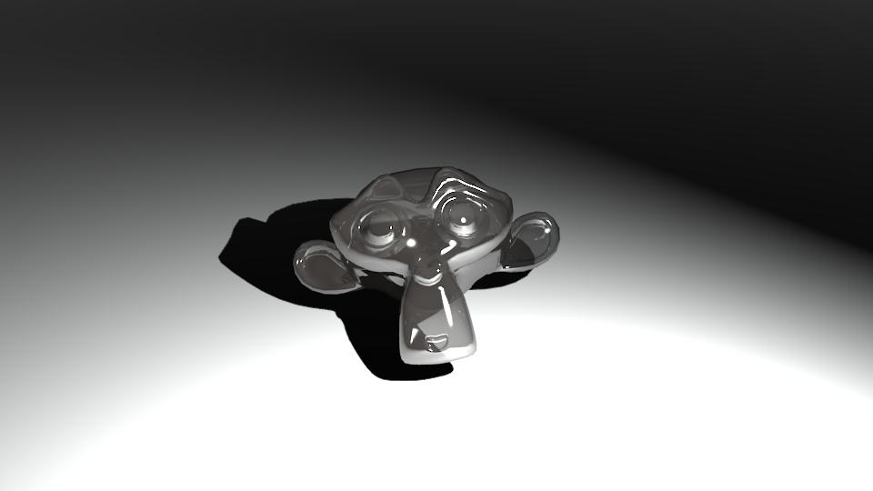 Glass Monkey by cyborghyena