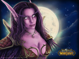 -Night Elf World Of Warcraft- by dadoundy