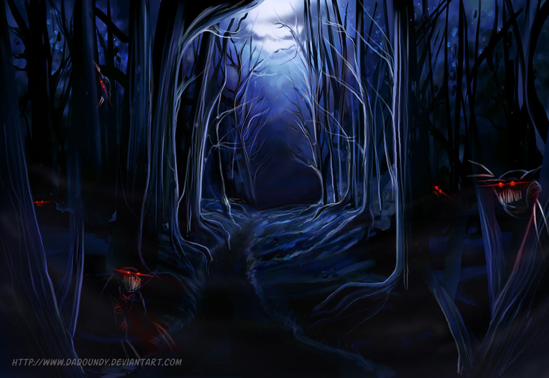 -Haunted Forest- by dadoundy