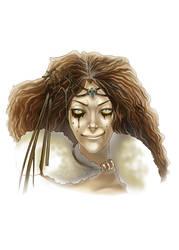 -Sorceress Portrait-