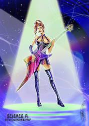 -Bassist Futurist-
