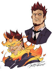 MHA-Endeavor by cappuccino9018
