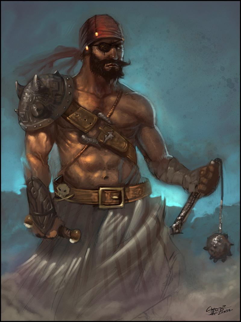 Pirate Illustration