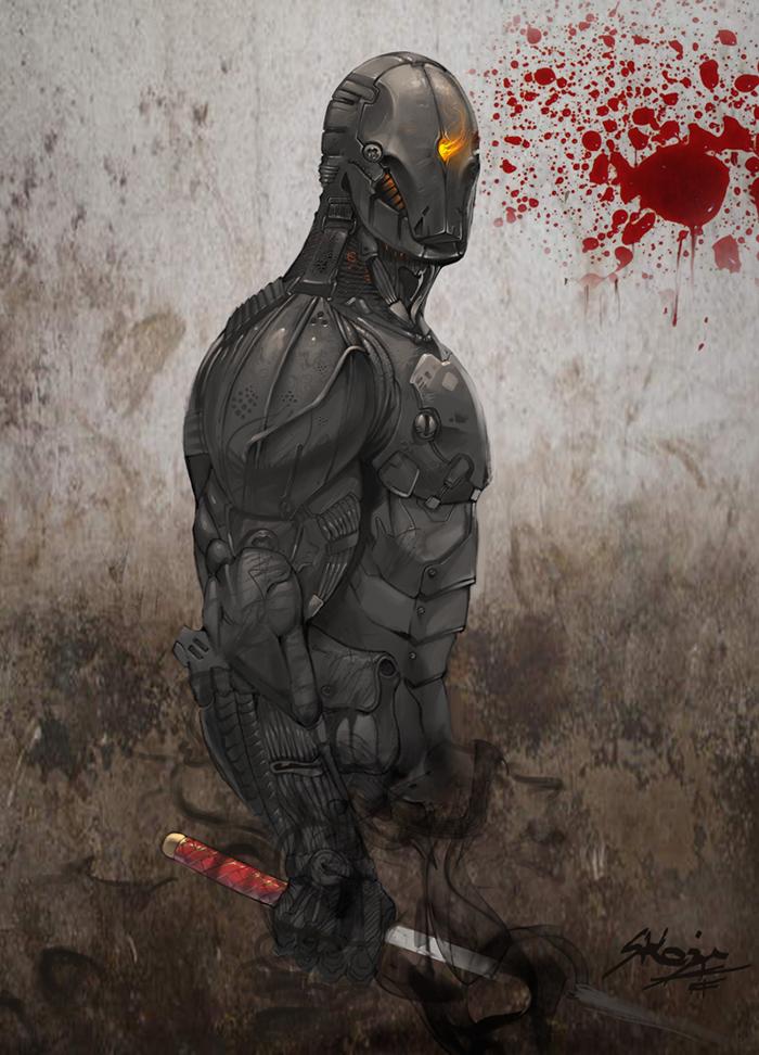 Ninja Suit final by skazi222