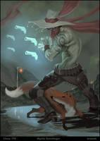 Chow 195 - Mystic Gunslinger by skazi222