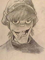 Murdoc Is Getting Real Creepy