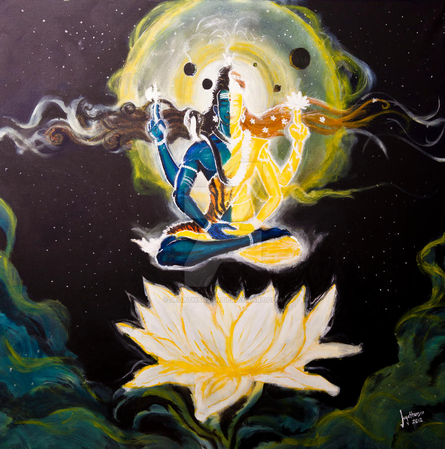 Beautiful Ardhnarishwar HD Wallpaper for free download