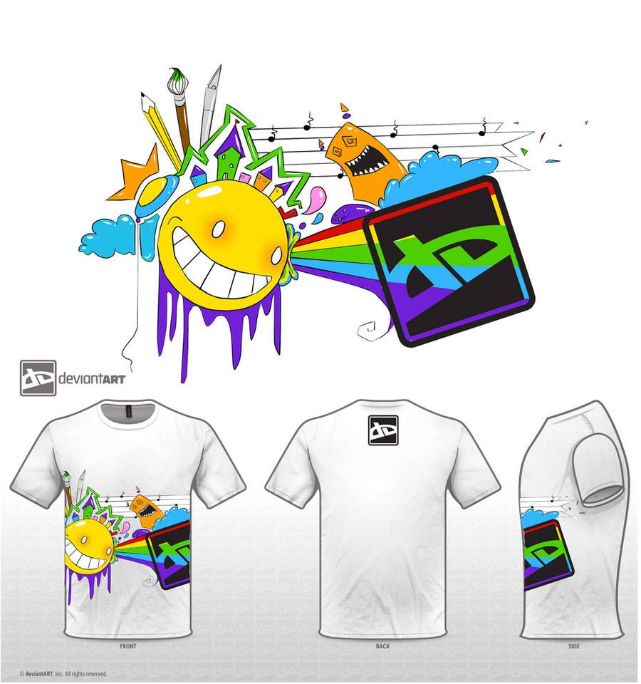 da logo t shirt design contest by invalidabsence on deviantart