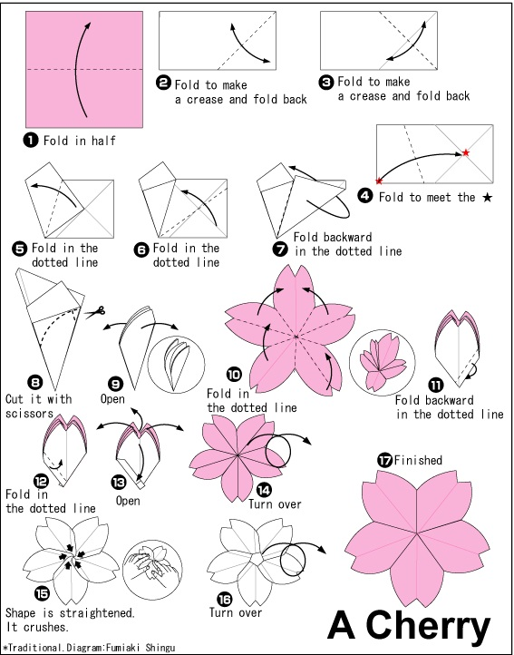 Amazon.com: Origami Paper 100 sheets Hearts & Flowers 6