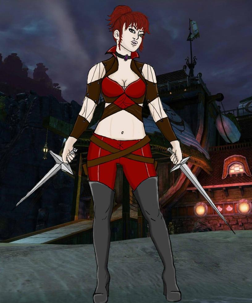 Feymi the pirate-necromancer by bitchvampire93