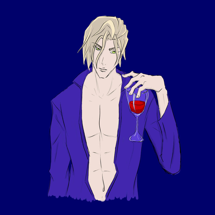 Wine? by bitchvampire93