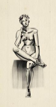 Quick pose sketch