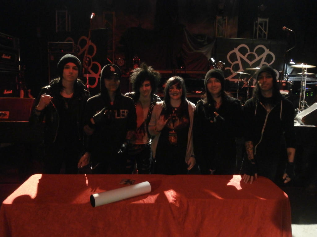 Me Meeting Black Veil Brides By Breemurderxo On Deviantart