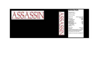 Assassin: The Energy Drink That Kills
