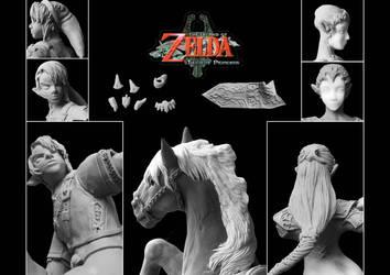 WIP: Legend of Zelda - TP -Figures