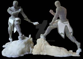 Risen 3 - Titan Lords: Guard on lava-base