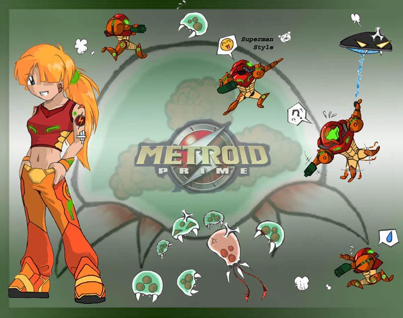 metroid wallpaper. Metroid wallpaper by