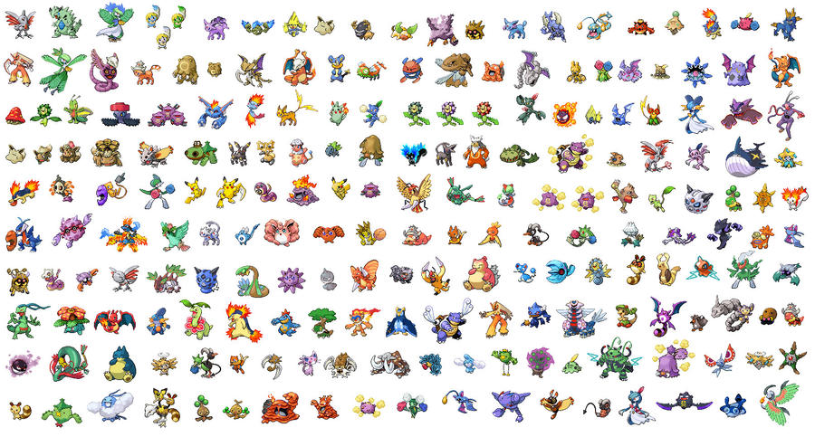 The gallery for --> Made Up Pokemon Sprites