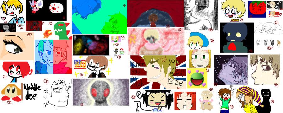 Random Stuff I've Been Drawing by Teddie-Chan