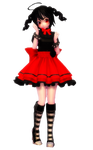 MMD Gothic Kaai Yuki DL