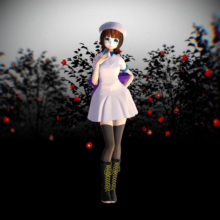 MMD Tda Styled Rena Ryuugu Model DL by HauntingHeart