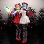 MMD TDA Styled Scarlet Sisters DL