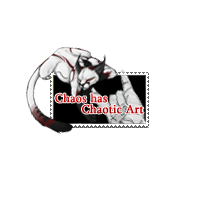 Chaos Fan Stamp by TheBloodskins