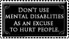 Excuse Stamp by TheBloodskins