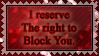 Block You.