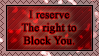 Block You. by TheBloodskins