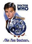 The Ten Doctors Poster