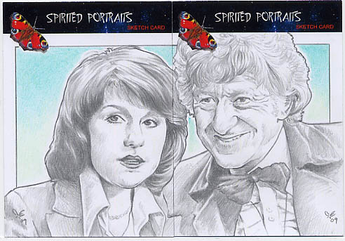 The Third Doctor + Sarah Jane by Timedancer