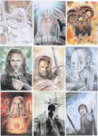 Lord of The Rings portraits