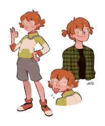 a cute nerd by lwzgl
