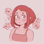 hibiscus and uraraka
