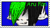 Aru Fan Stamp by Kawaii-Chocobo