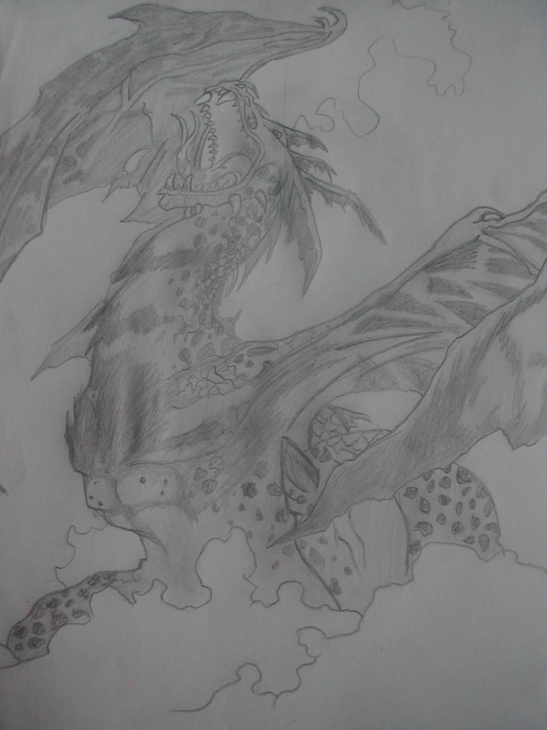 Dragon 2 by Kawaii-Chocobo