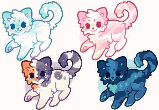 Sky Kittens (1/4): open !