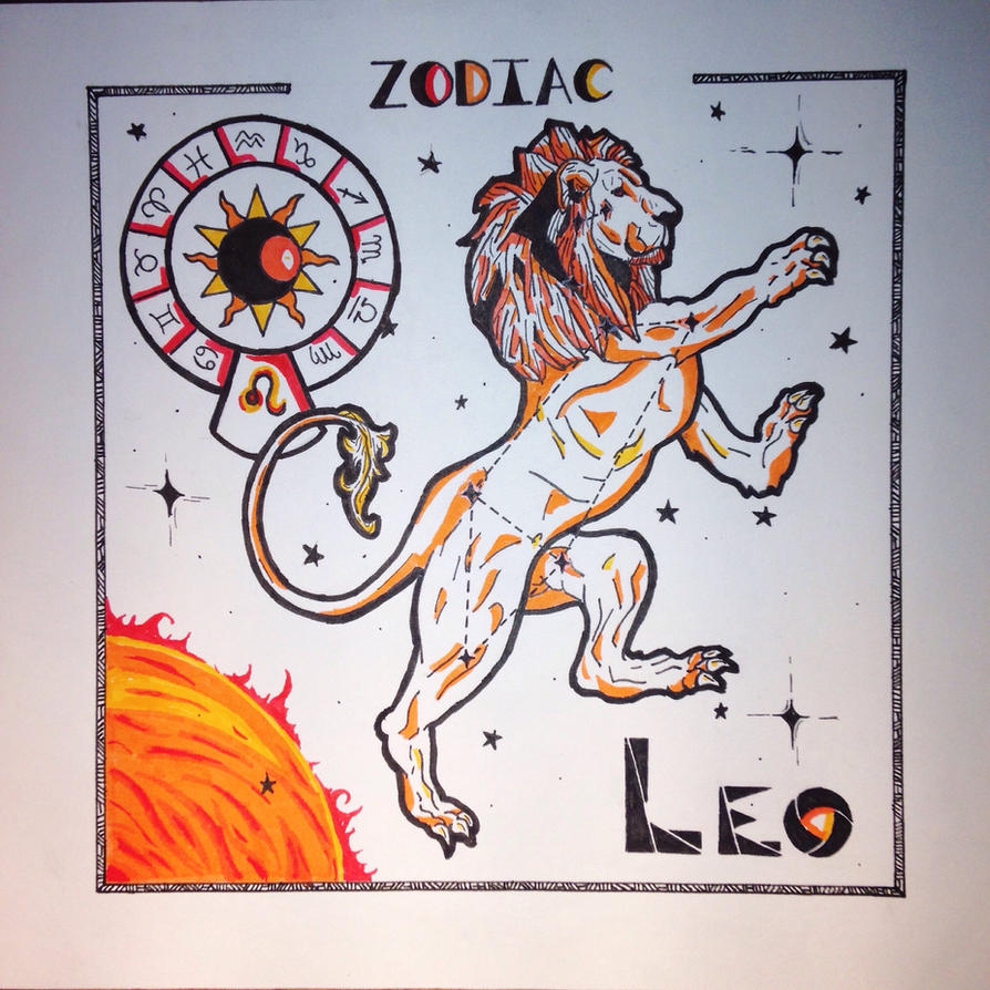 Leo, the lion of the sun by BunsaDraws on DeviantArt