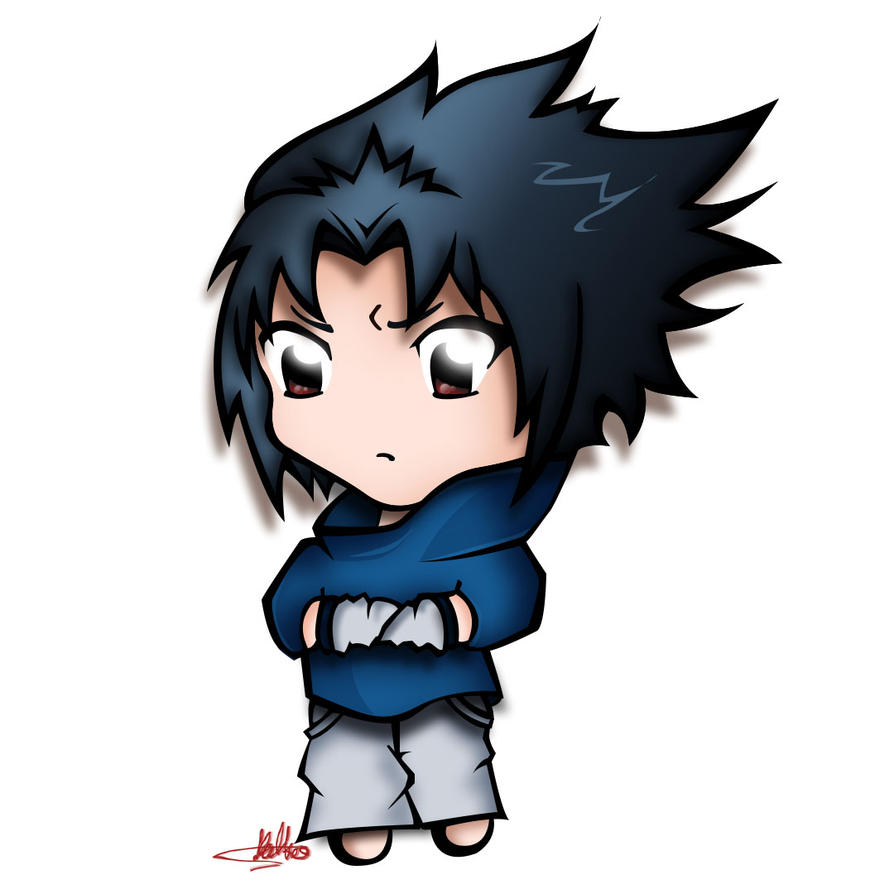 Chibi Sasuke Uchiha by SuGaR-AdDIKt on DeviantArt