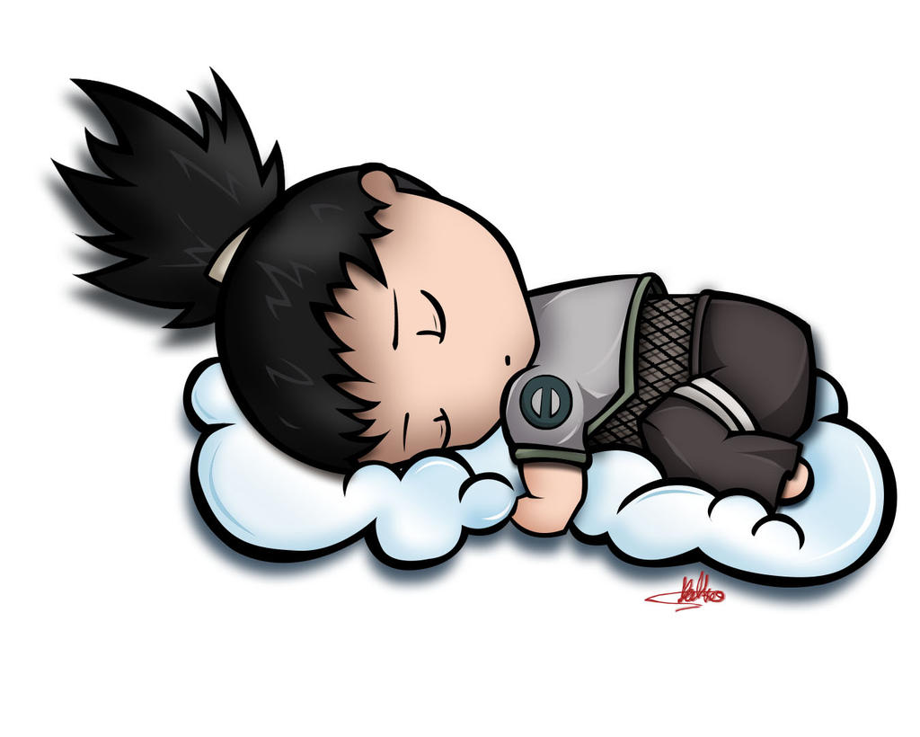 Sleeping Chibi Shikamaru Naara by SuGaR-AdDIKt on DeviantArt