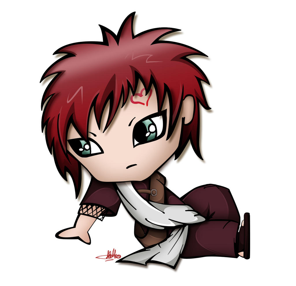 Chibi Gaara 2 by SuGaR-AdDIKt on DeviantArt Gaara And Naruto Chibi