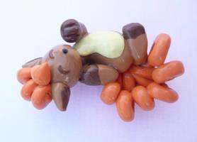 Vulpix figurine by SuGaR-AdDIKt