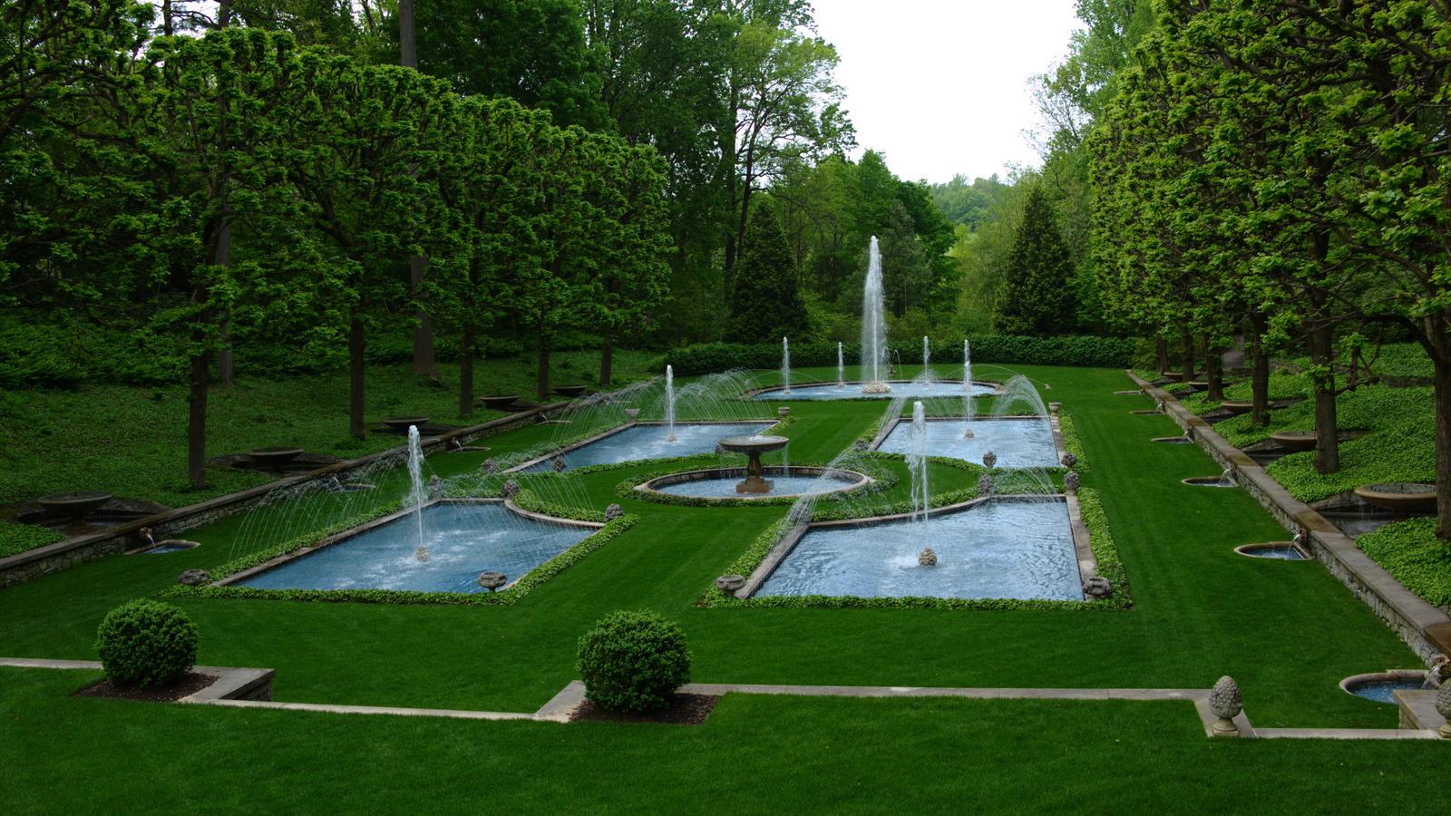 Longwood Gardens Water Garden