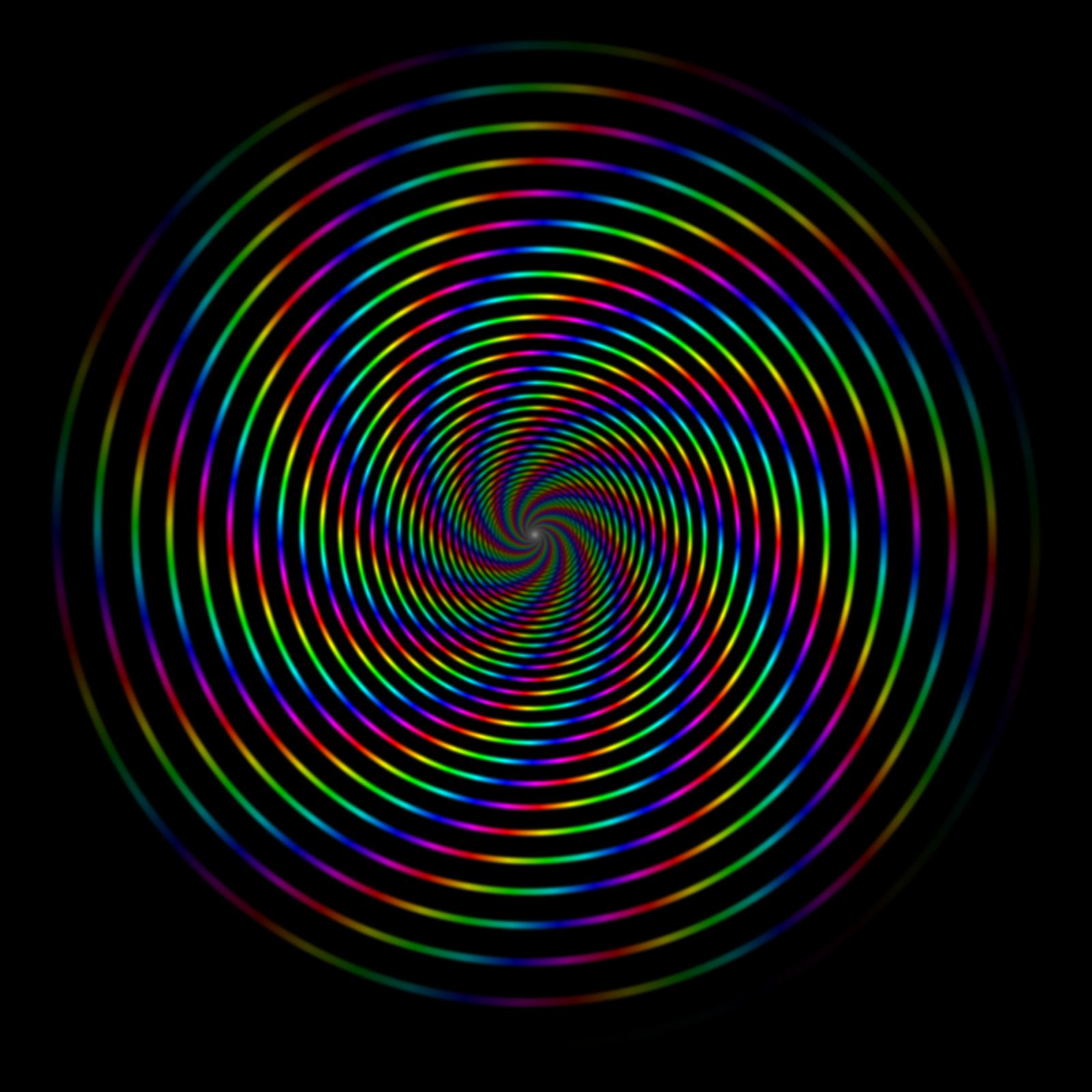 spiral rainbow - photo #3