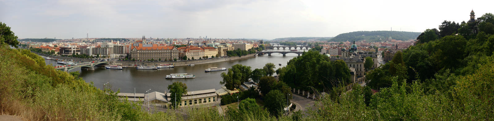 Vltava Panorama by dseomn