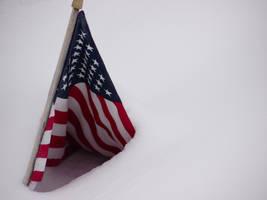 USA Flag Snow Tent