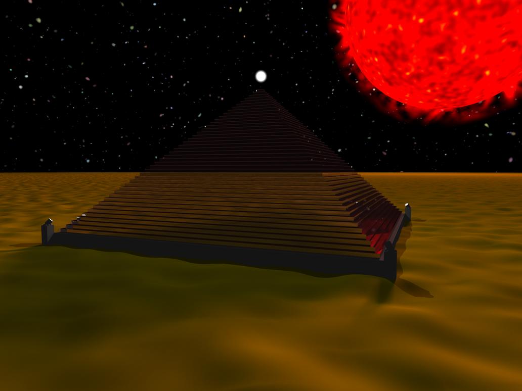 Alien's Pyramid by dseomn