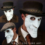 We Happy Few - Leather Mask by KwestCostumeArt