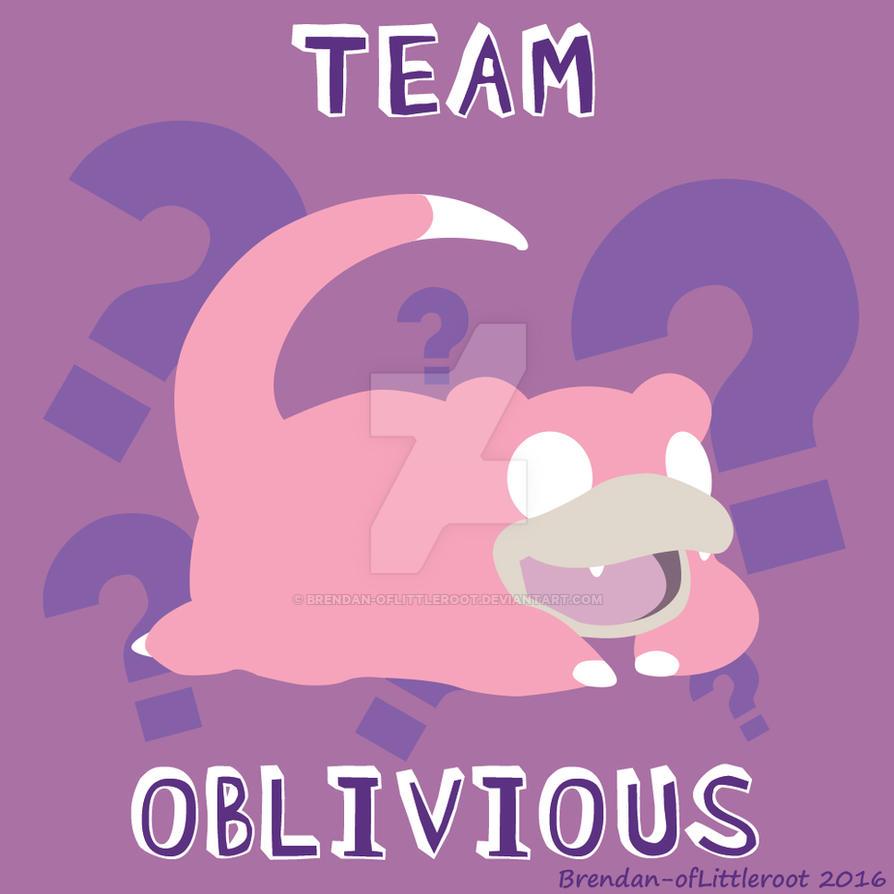 TEAM OBLIVIOUS by Brendan-ofLittleroot